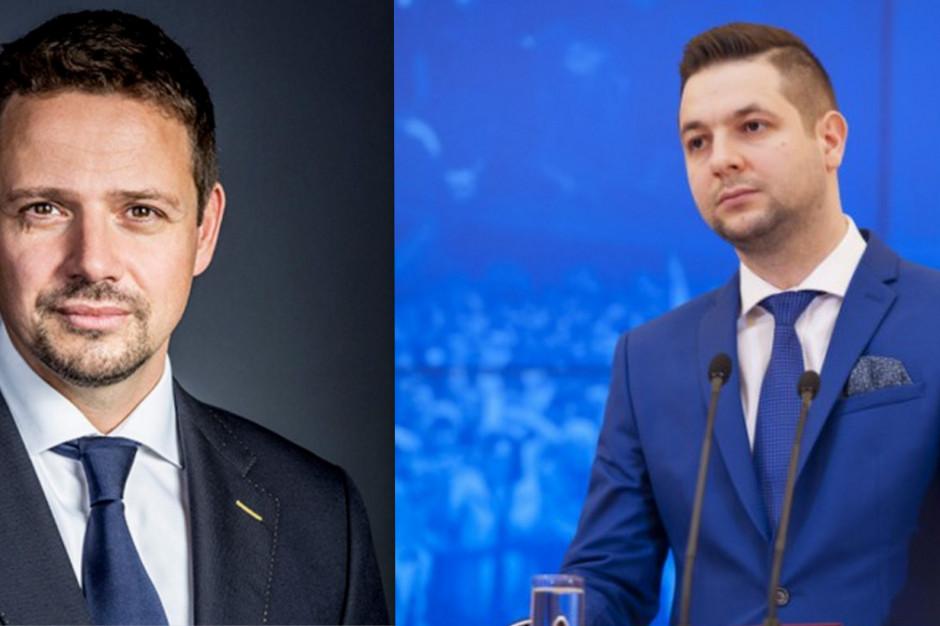 Sondaż: topnieje przewaga między Rafałem Trzaskowskim a Patrykiem Jakim