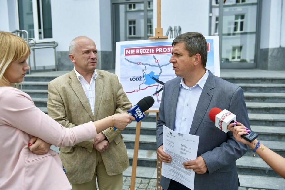 Łódźcy radni zapowiadają walkę z rządem. Chodzi o przebieg drogi ekspresowej S8