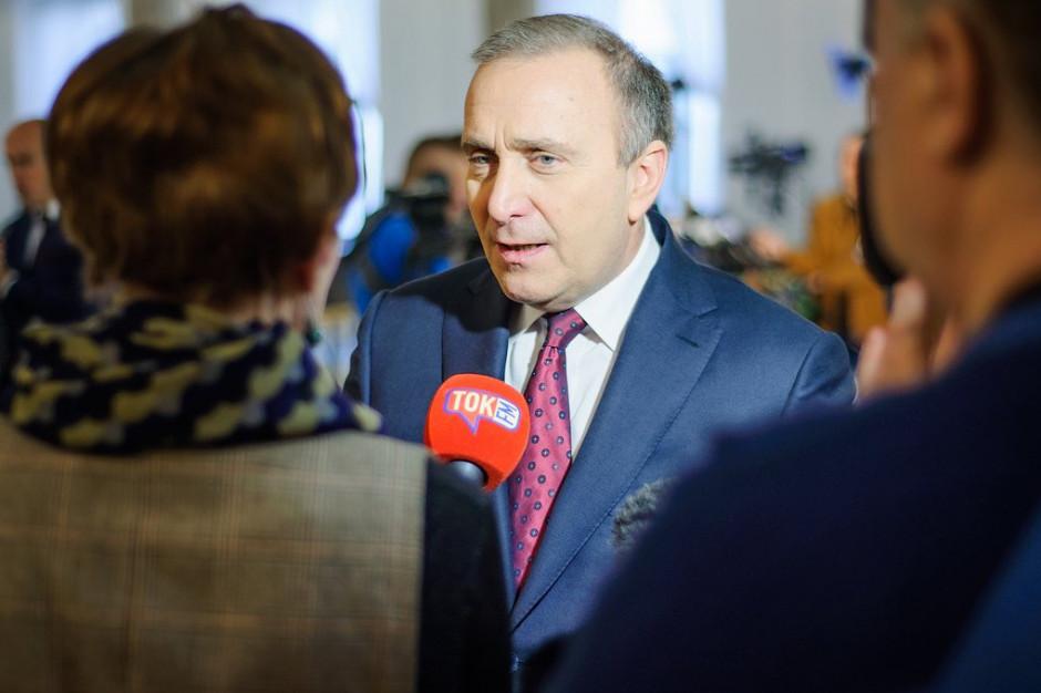 Grzegorz Schetyna: specustawa górnicza ma odsunąć samorządowców od kluczowych decyzji