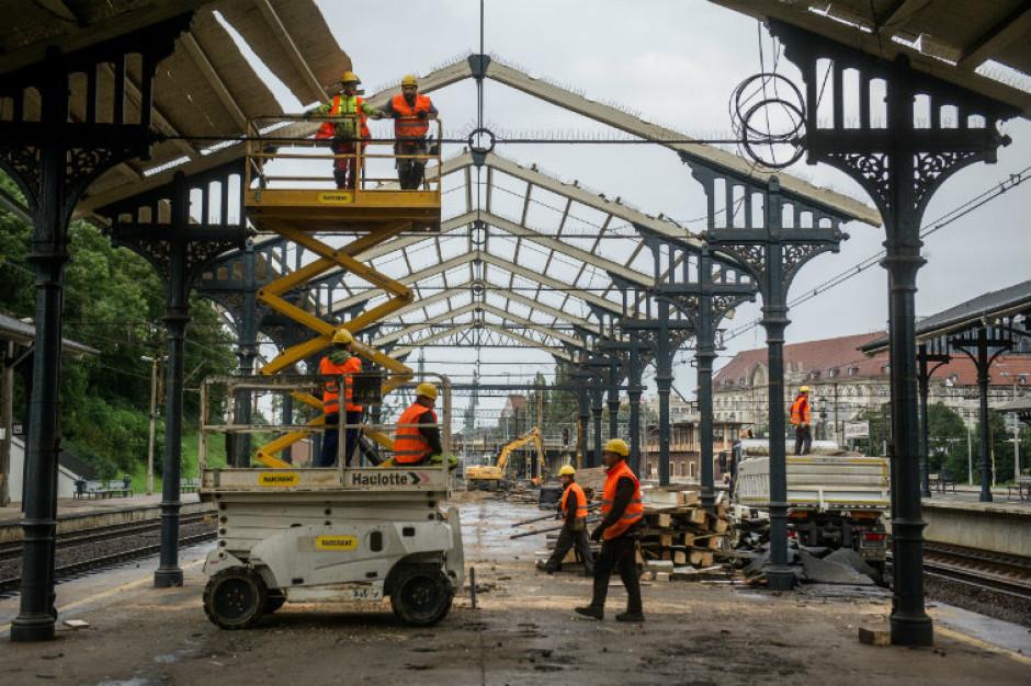 Dworzec w Gdańsku w przebudowie