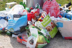 Są zarzuty  dla właściciela firmy za niezgodne z przepisami składowanie odpadów