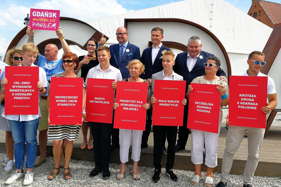 Pakt dla Gdańska. Prezydent Adamowicz przedstawił swój program wyborczy