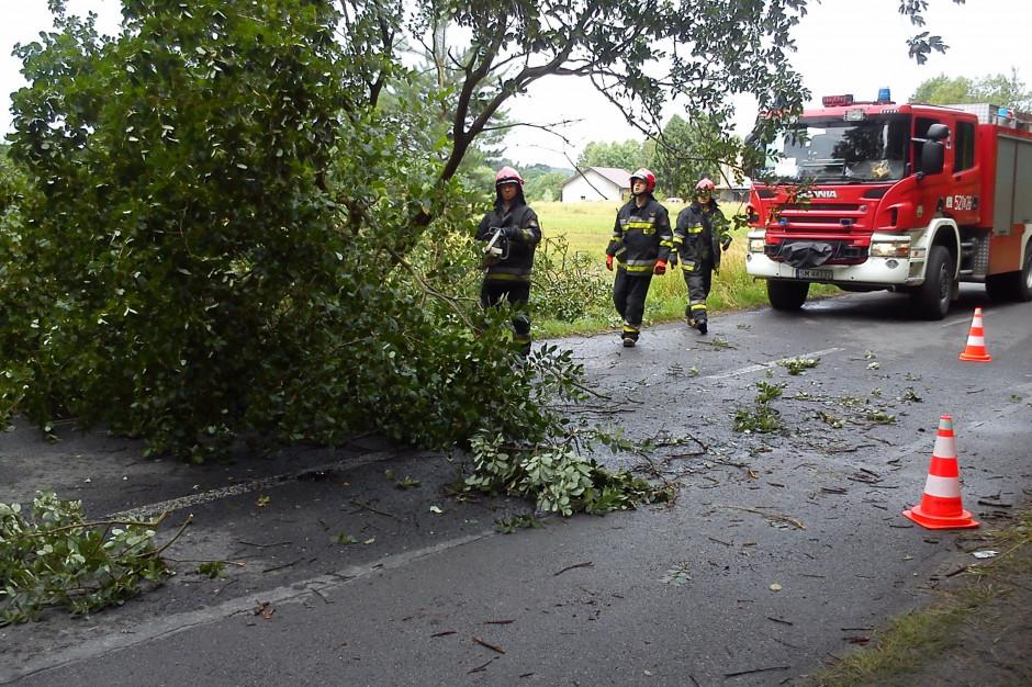 Ponad 4,3 tys. interwencji strażaków po nawałnicach z 21 czerwca