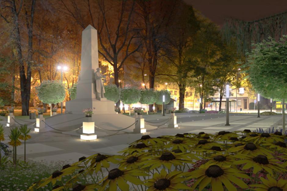 Samorząd Czechowic-Dziedzic odbudowuje Pomnik Wolności