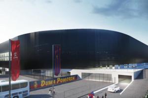 Szczecin szybciej niż planował ogłosi przetarg na największą inwestycję sportową w mieście