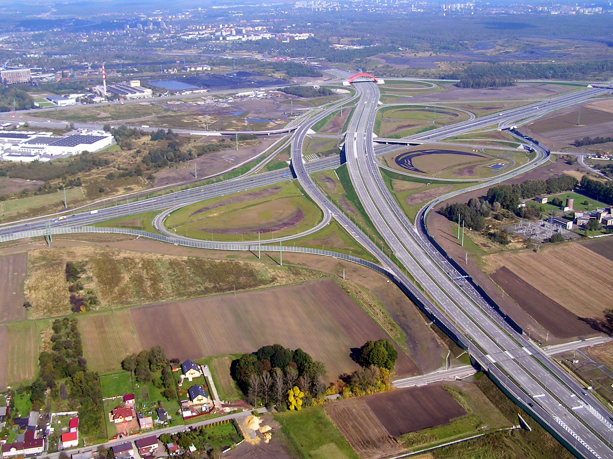 Węzeł Sośnica (fot. Mikołaj Welon vel Welones/wikimedia.org/CC BY-SA 3.0)