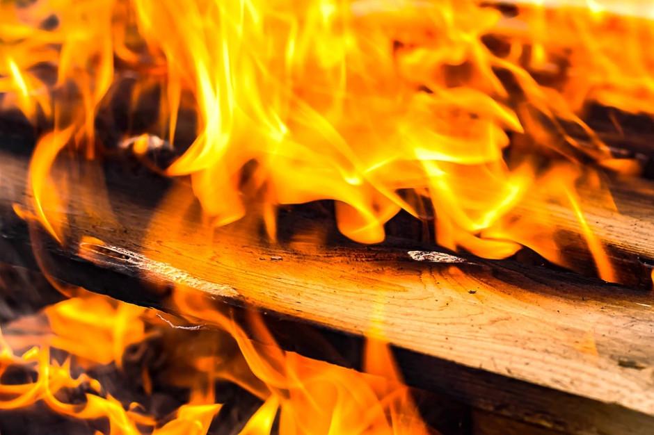 Pożar Domu Pomocy Społecznej w Rąbieniu. Są ranni