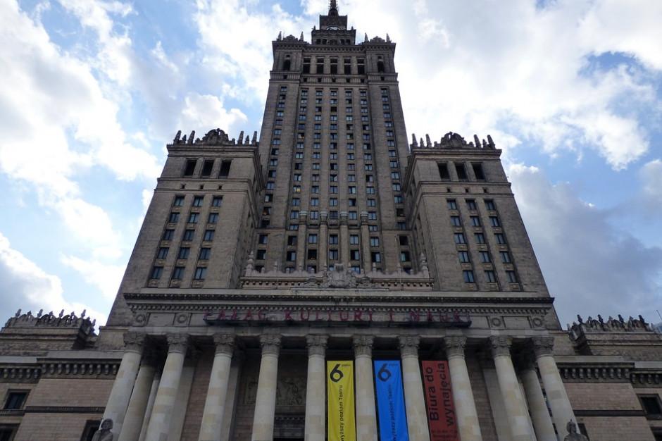 Taras widokowy w Pałacu Kultury jest odświeżany