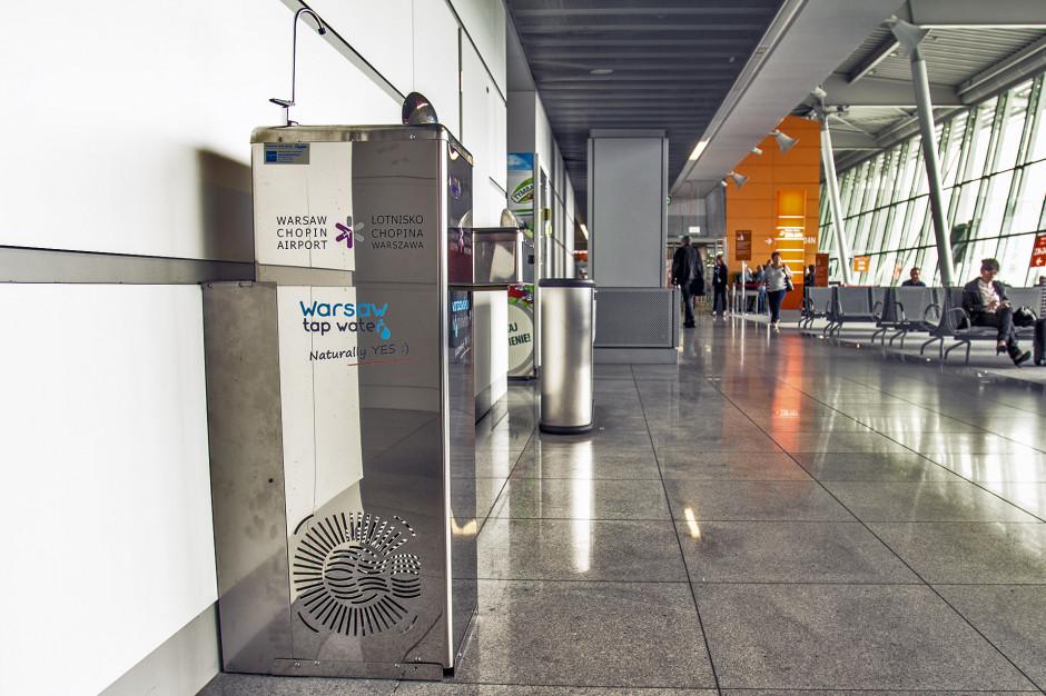 Bezpłatna woda do picia na Lotnisku Chopina