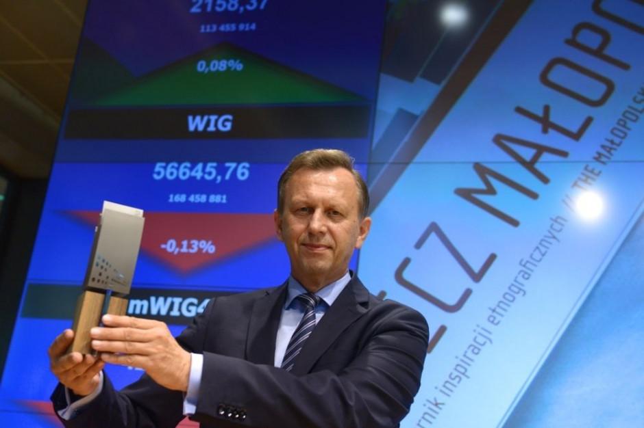 Od 6 lipca obligacje województwa małopolskiego są notowane na giełdzie