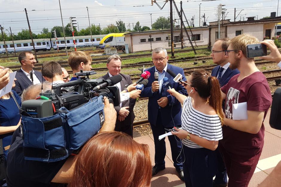 Krakowski Węzeł Kolejowy przechodzi obecnie gruntowną modernizację