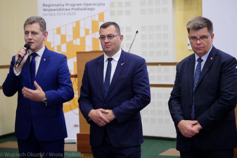 Podlaskie: 15,5 mln zł dofinansowania na poprawę jakości usług medycznych