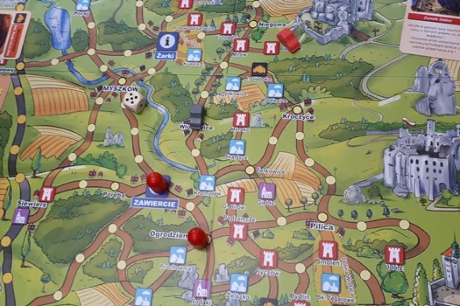 Gra planszowa promuje atrakcje od Częstochowy do Krakowa