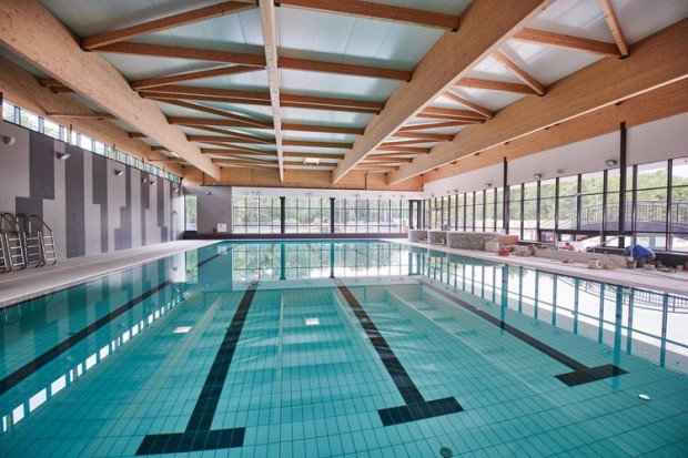 W Aquaparku Fala do dyspozycji gości oddana zostanie nowa hala z 25-metrowym basenem (fot. Sebastian Glapiński / UMŁ)
