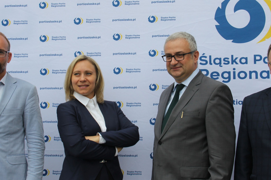 Śląska Partia Regionalna przedstawia liderów list do sejmiku