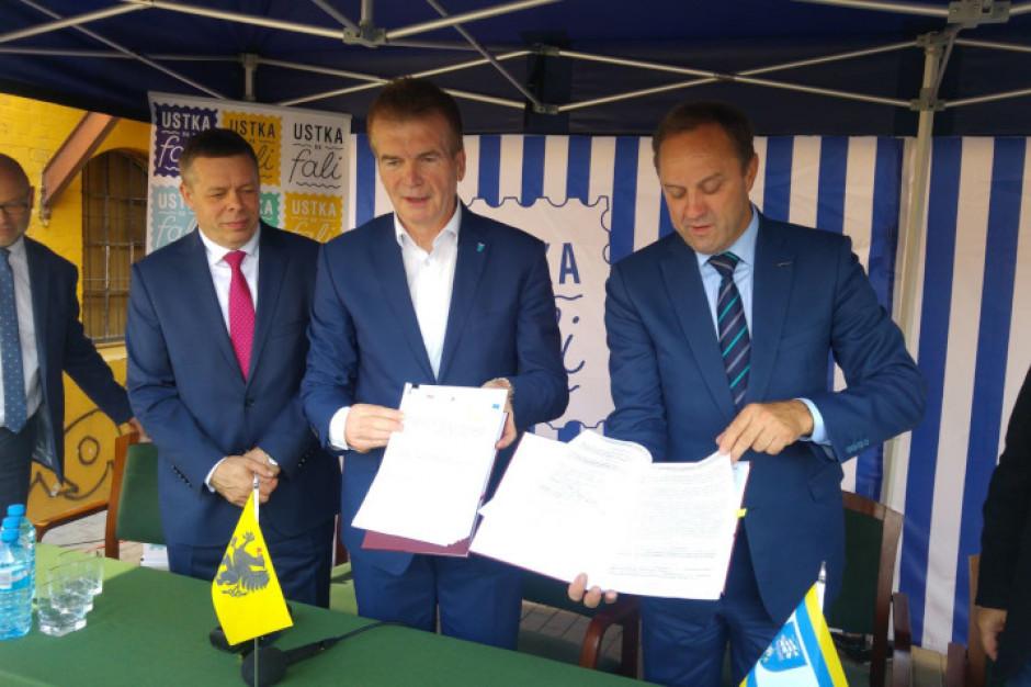 Umowa na budowę węzła integracyjnego w Ustce podpisana