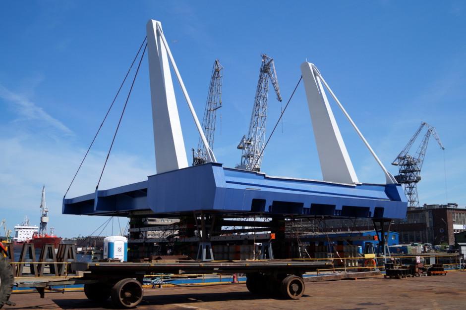 Nowy most w Sobieszewie jeszcze w budowie, ale ma już nową nazwę