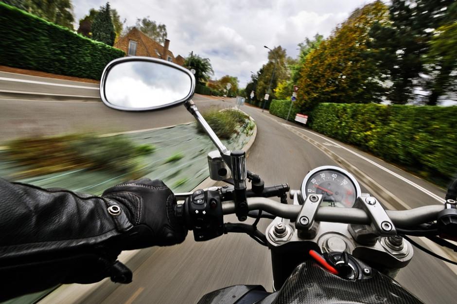 Policja: motocykliści na buspasach nie zagrażają bezpieczeństwu
