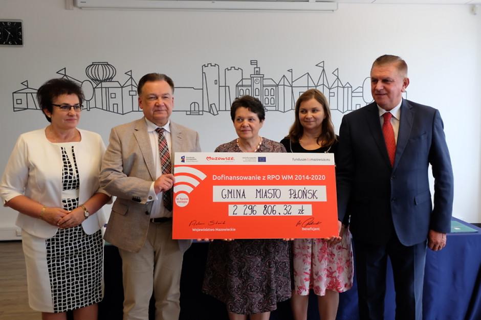 Dofinansowanie na remonty dla Ciechanowa i Płońska