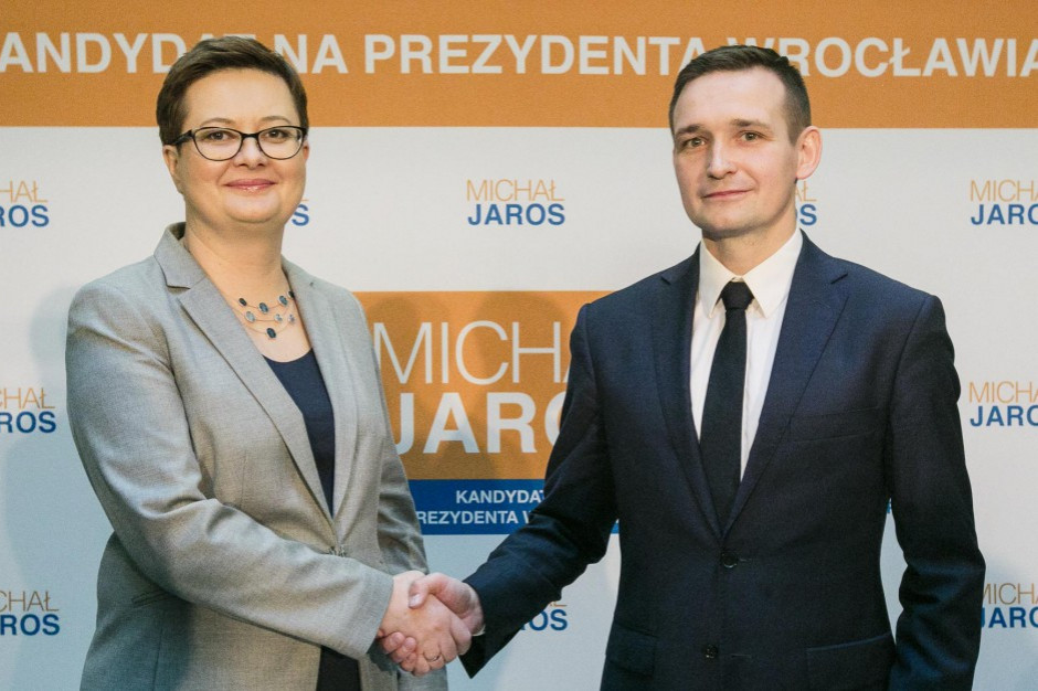 Michał Jaros chce być prezydentem z poparciem Koalicji Obywatelskiej