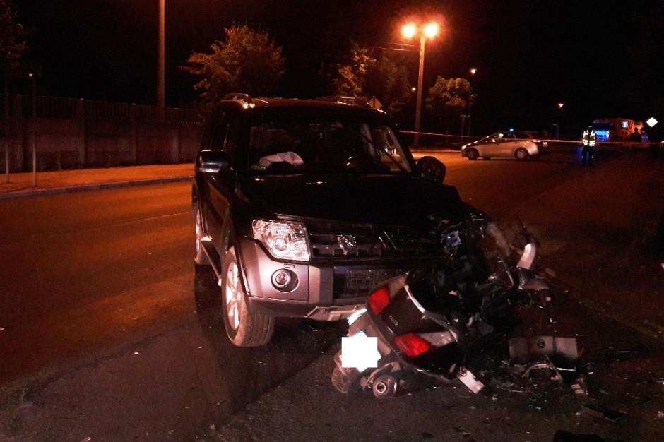 Burmistrz Pajęczna spowodował śmiertelny wypadek