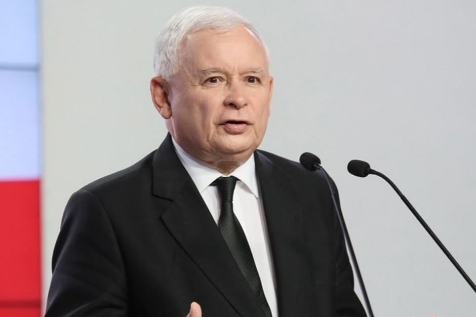 """Jarosław Kaczyński o szansach na zwycięstwo w dużych miastach: """"To bardzo trudne"""""""