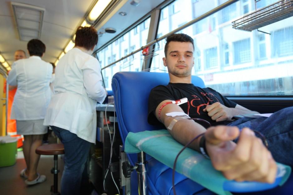 Czekolady to standard. W Gdańsku za oddanie krwi dodatkowo 2 godziny parkowania gratis