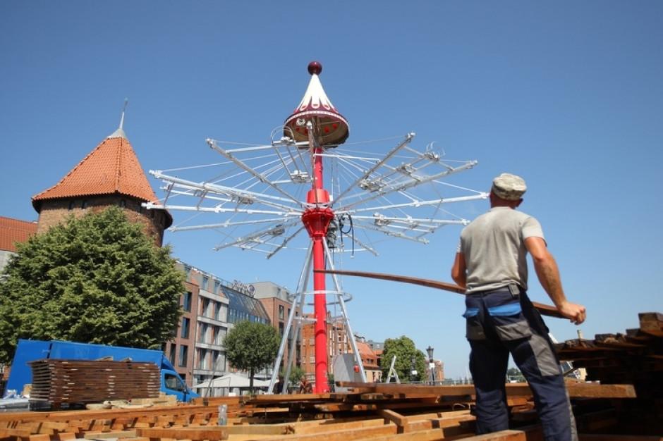 Karuzela Gdańska na Targu Rybnym zawiruje już w sobotę
