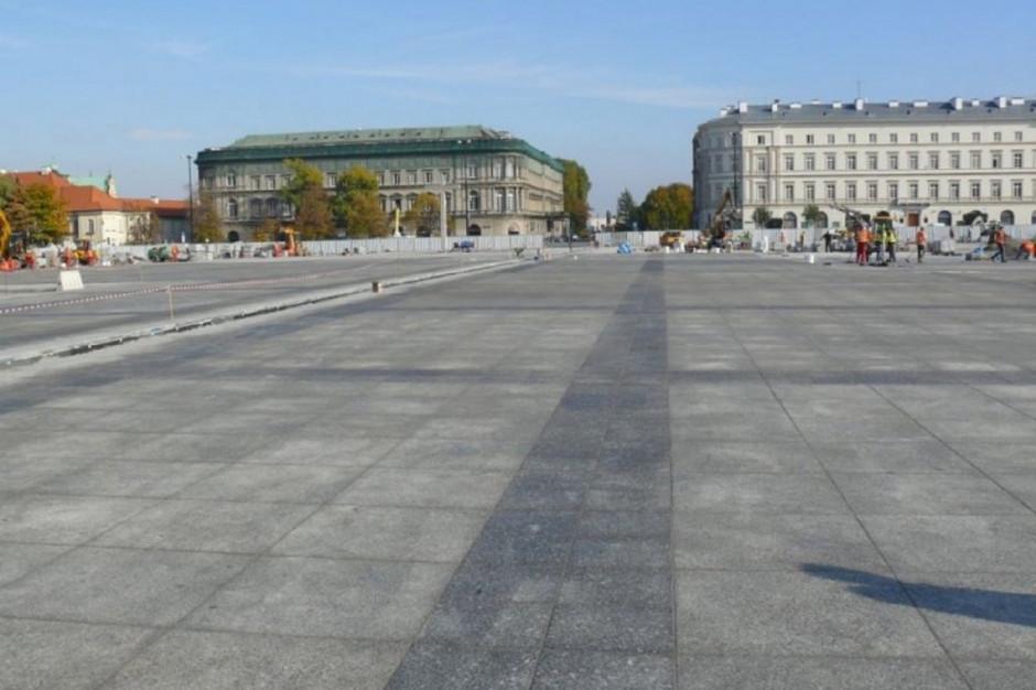 Nowoczesna chce przebudować plac Piłsudskiego. Kandydat na prezydenta motywuje plany dwoma powodami