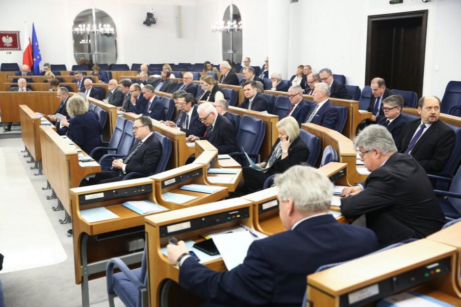 Ustawy ważne dla samorządów z poparciem Senatu