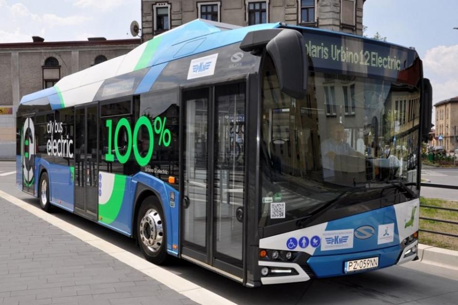 Czechowice-Dziedzice testują autobusy z napędem elektrycznym