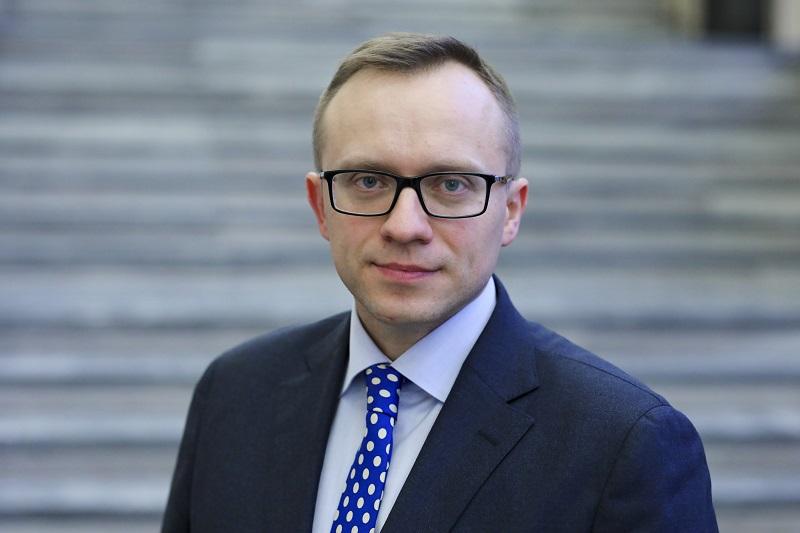 Artur Soboń jest sekretarzem stanu w Ministerstwie Inwestycji i Rozwoju od lutego 2018 r. (for. MIiR/miir.gov.pl)
