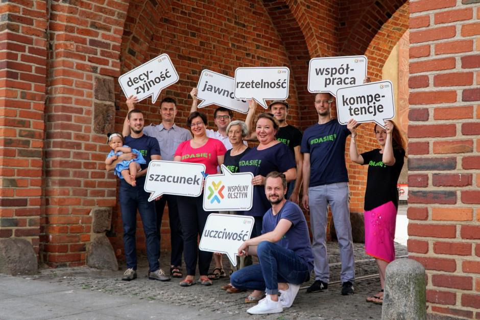 Wspólny Olsztyn podjął decyzję o stworzeniu listy do wyborów samorządowych