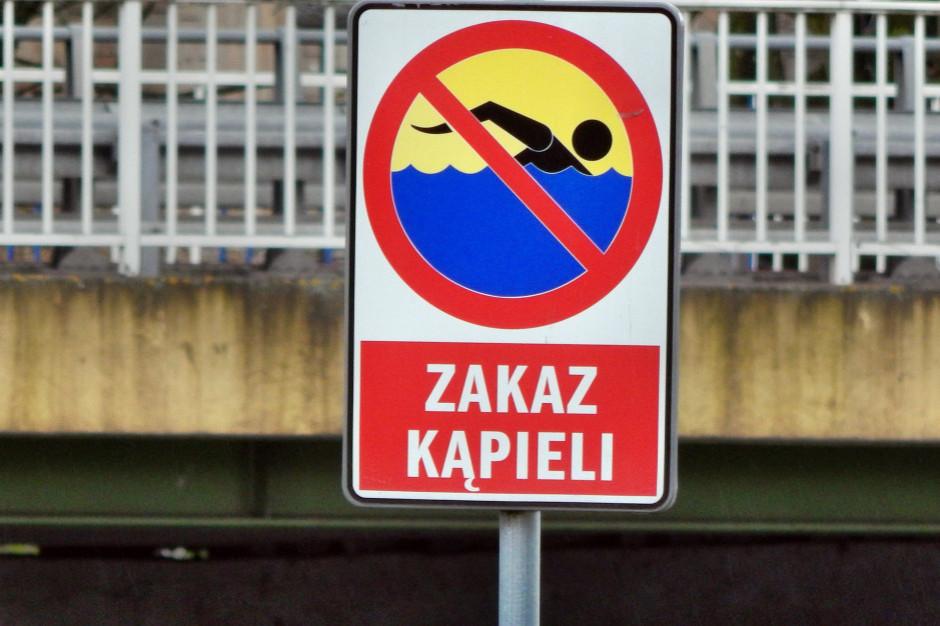 W tegorcznym sezonie wydano 350 zakazów kąpieli