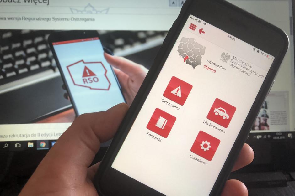 Jest nowa wersja aplikacji Regionalnego Systemu Ostrzegania