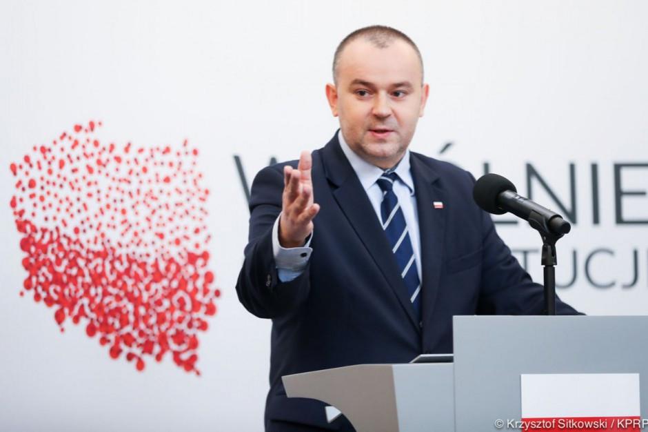 Paweł Mucha: kontakt z kolegami z samorządu bardzo pomaga w pracy w Pałacu