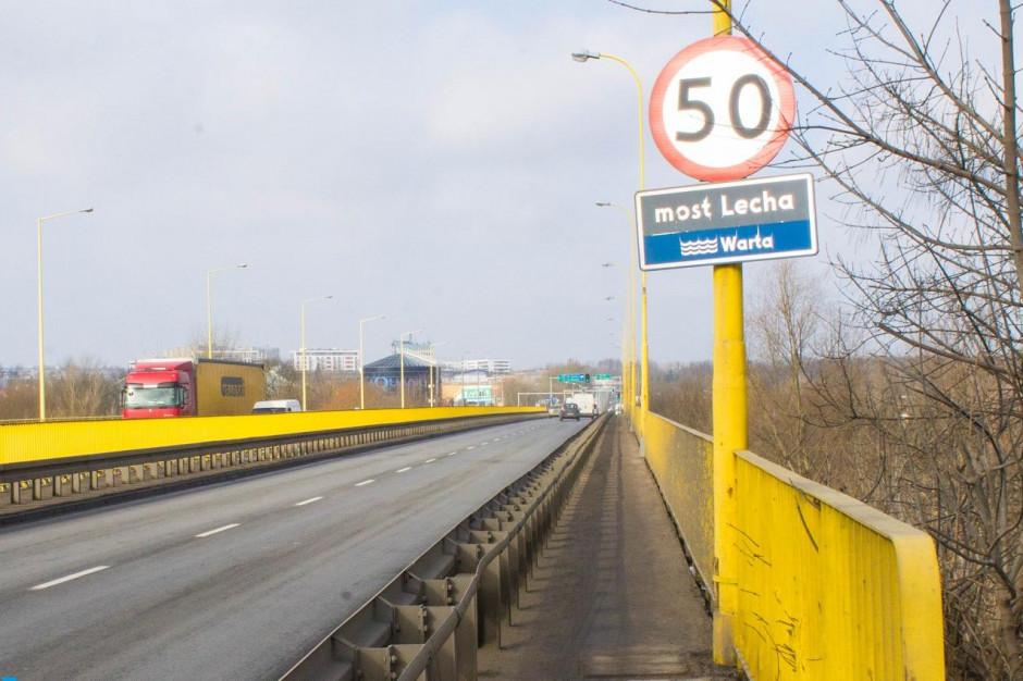 Poznań. Rusza remont mostu Lecha. Kierowców czekają spore utrudnienia