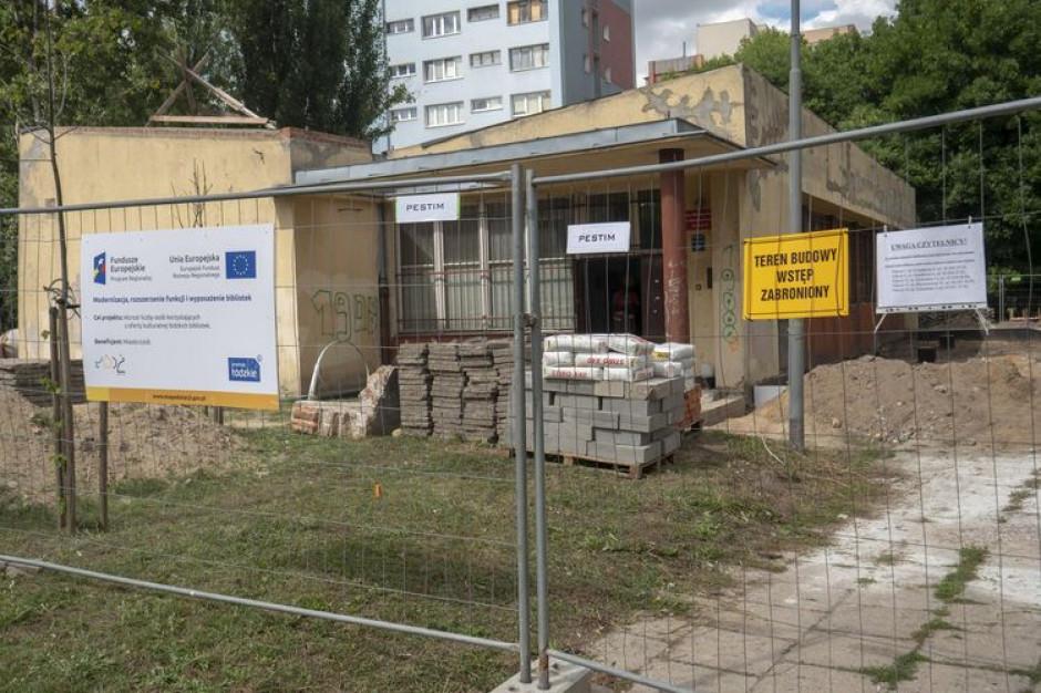 Na łódzkich Bałutach powstają dwie nowoczesne biblioteki