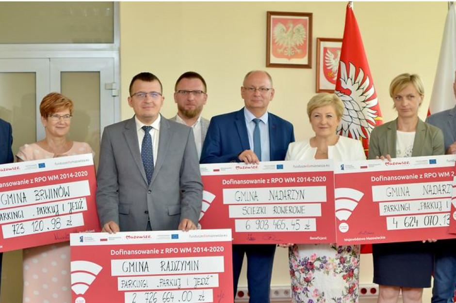 Ponad 18,5 mln zł z UE na poprawę infrastruktury na Mazowszu