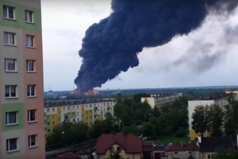 Milion złotych kary za pożar składowiska odpadów w Zgierzu