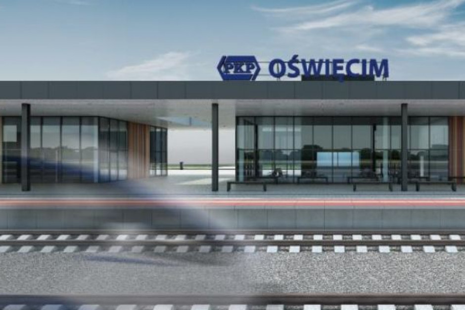 Małopolska. W Oświęcimiu PKP wybudują nowy dworzec kolejowy