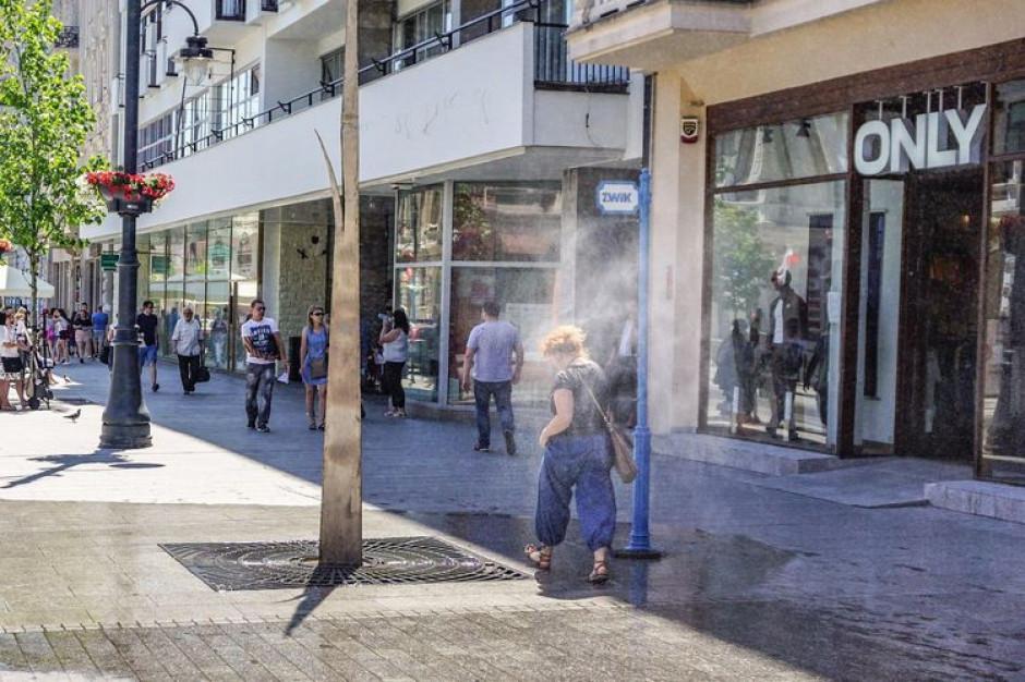 Łódź pomaga mieszkańcom walczyć z upałami