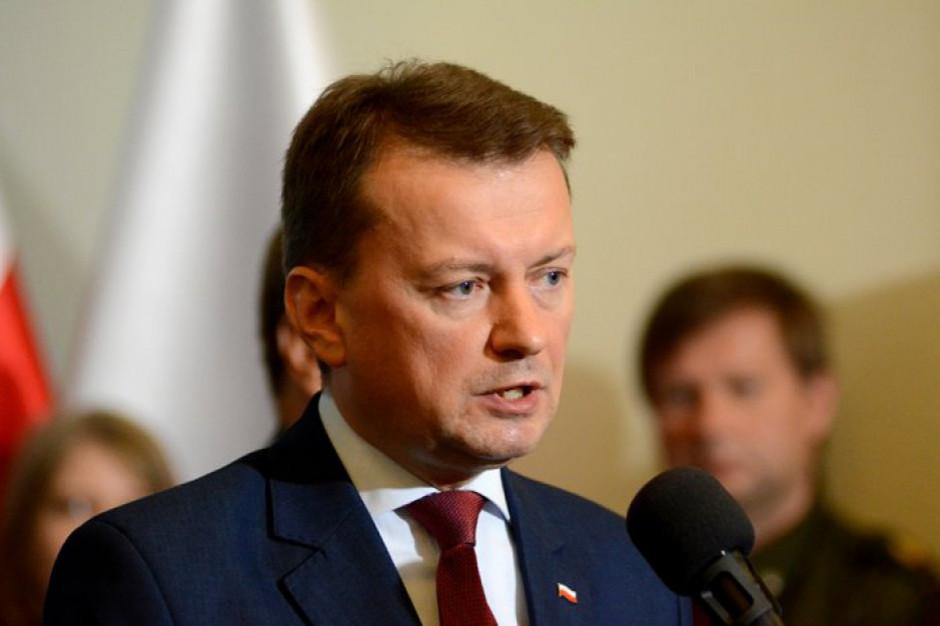 Mariusz Błaszczak: żądam od prezydenta Gdańska zmiany decyzji w sprawie Westerplatte