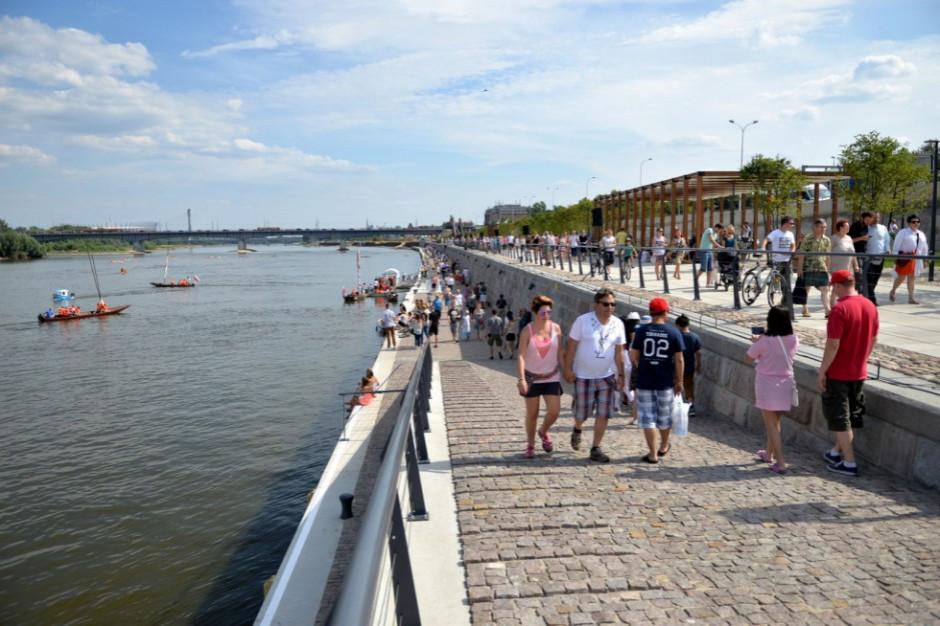 Warszawa. Stołeczni aktywiści proponują budowę kąpielisk nad Wisłą