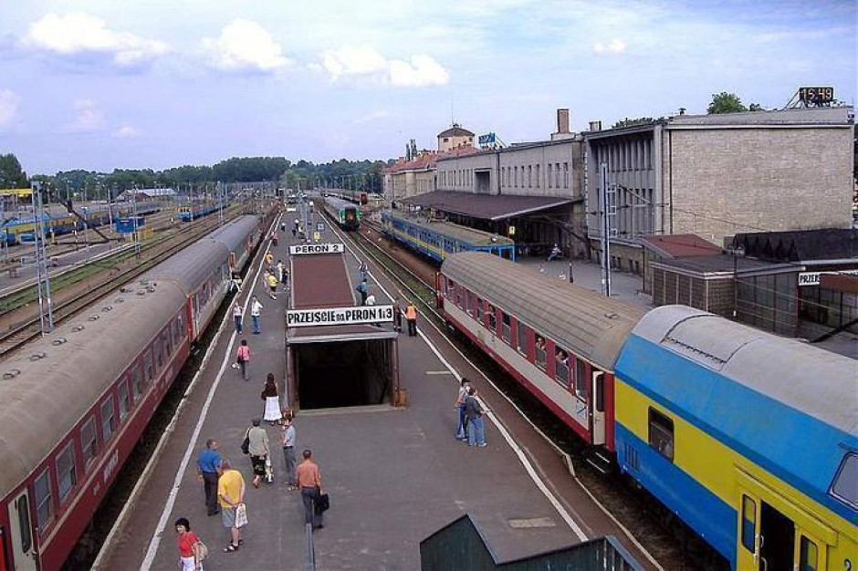 Podkarpackie. Rozpoczął się remont stacji PKP Rzeszów Główny