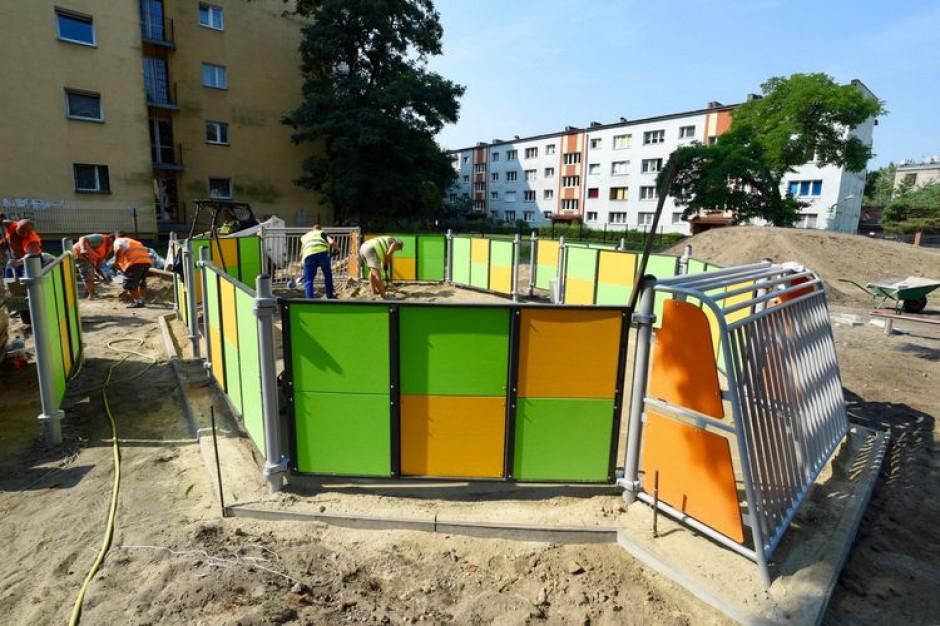 Łódź buduje kolejne place zabaw