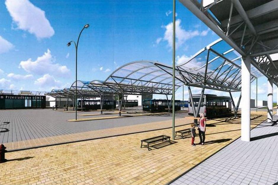 Łomża rozpoczęła rozbiórkę dworca autobusowego