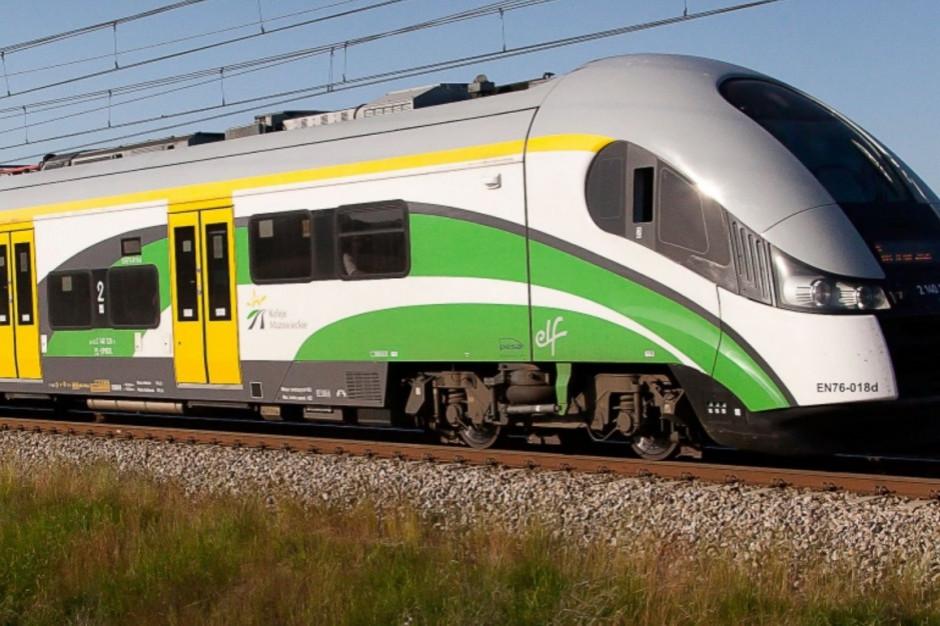 Koleje Mazowieckie wprowadzają korektę rozkładu jazdy pociągów