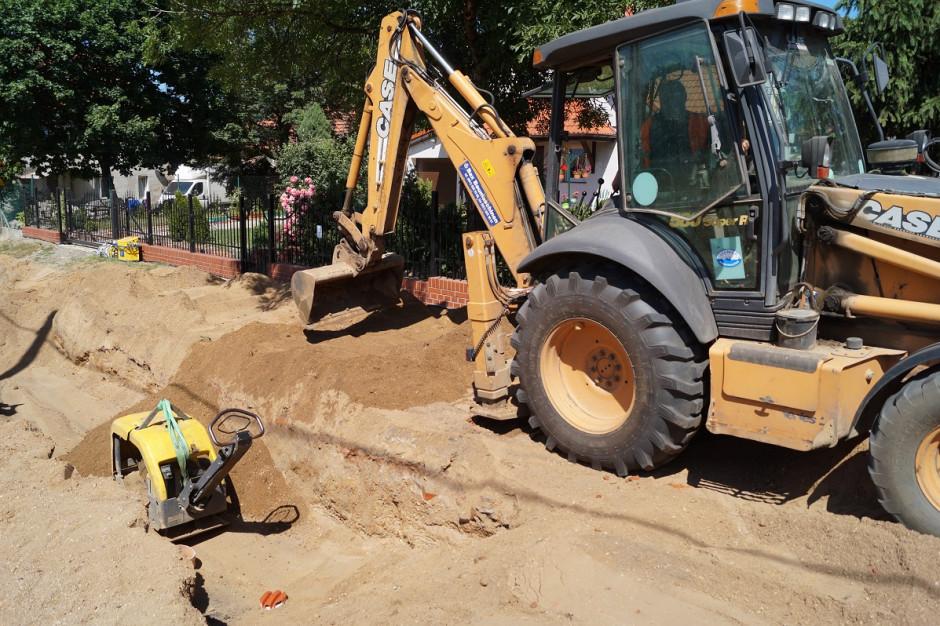 Kolejni mieszkańcy Legnicy przyłączają się do sieci wodno-kanalizacyjnej