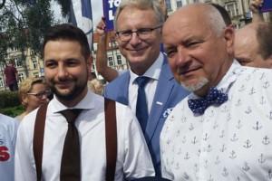 Patryk Jaki zaapelował do bydgoszczan o poparcie kandydatury Tomasza Latosa